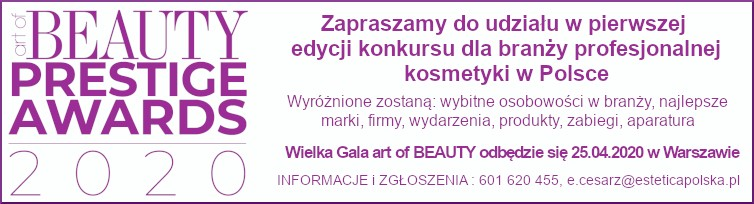 art of BEAUTY Konkurs Prestige Awards 2020